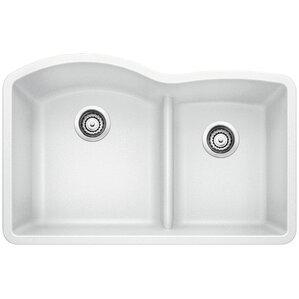 White Kitchen Sink Undermount white kitchen sinks you'll love   wayfair