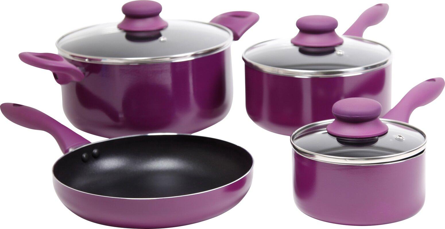 Gibson Branston 7 Piece Cookware Set & Reviews | Wayfair
