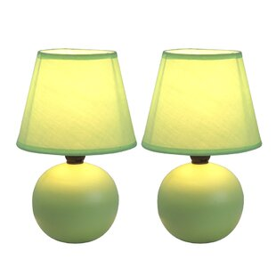 Green table lamps youll love wayfair save aloadofball Choice Image