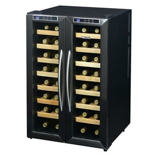 32 Bottle Dual Zone Freestanding Wine Cooler