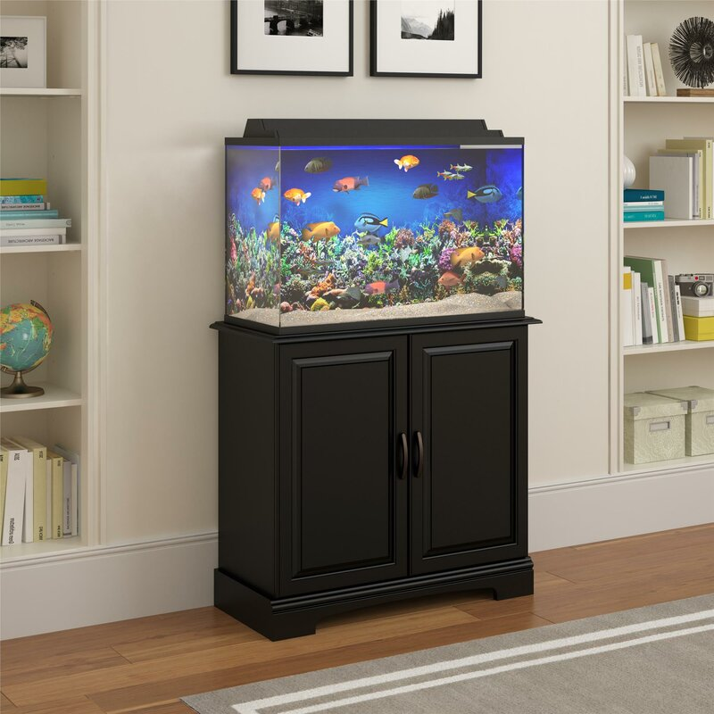 Charming Harbor 29 37 Gallon Cabinet Aquarium Stand