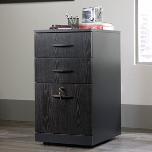 Castalia Three Drawer Pedestal Vertical File