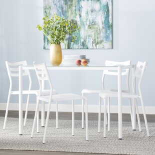 Tober 5 Piece Breakfast Nook Dining Set