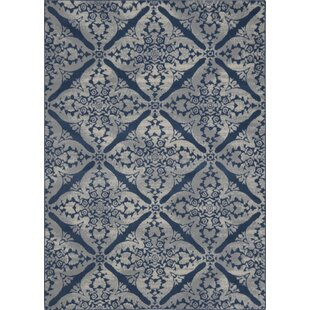 Anzell Blue Gray Area Rug
