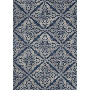 Anzell Blue Gray Area Rug