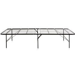 Platform Bed Frames Metal weekender foldable metal platform bed frame & reviews | wayfair