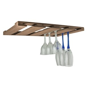 Overhead Hanging Wine Glass Rack