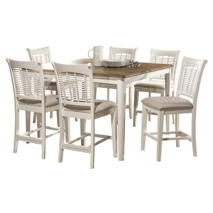 Hartling Bayberry 7 Piece Counter Height Dining Set