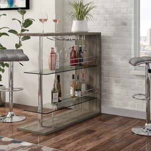 Canela Bar with Wine Storage
