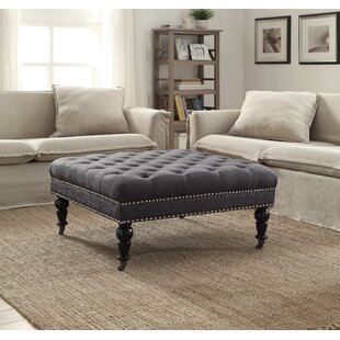 Fabulous Charcoal Grey Round Ottoman Wayfair Ibusinesslaw Wood Chair Design Ideas Ibusinesslaworg