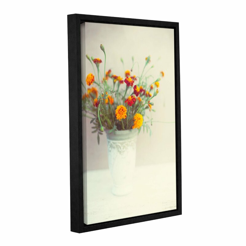 Artwall Flowers Classical Vase By Elena Ray Framed Photographic