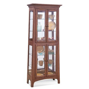 Lancaster III Lighted Curio Cabinet