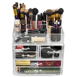Makeup Organizers Youll Love Wayfair - Cosmetic organizer countertop
