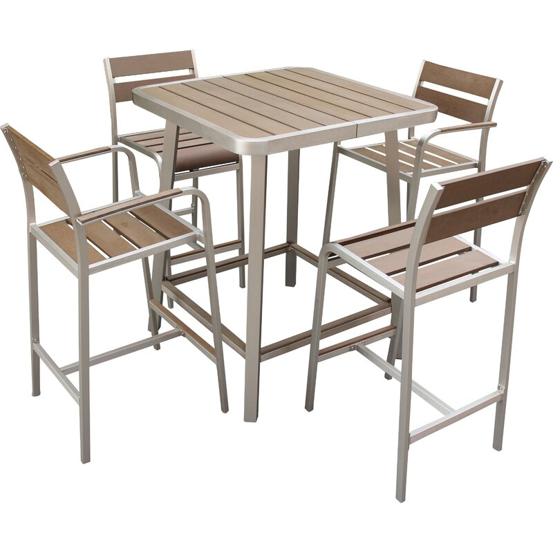 Remarkable Mattis 5 Piece Bar Set Caraccident5 Cool Chair Designs And Ideas Caraccident5Info
