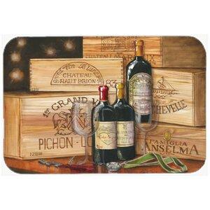 Wine Gran Vin by Malenda Trick Kitchen/Bath Mat