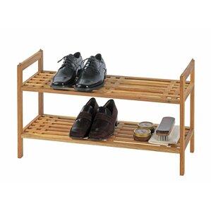 6 pair shoe rack