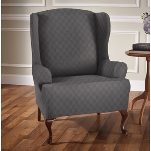 Wing Chair Slipcovers Youll Love