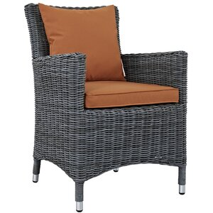 Summon Patio Dining Chair with Cushion