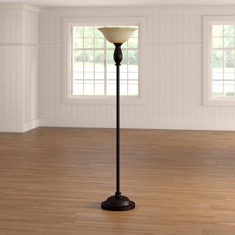 Alcott Hill Clement 71 Quot Torchiere Floor Lamp Amp Reviews