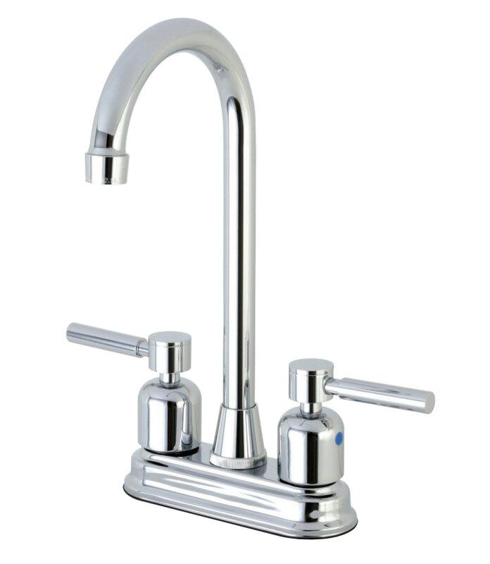 Kingston Brass Centurion Hot & Cold Water Dispenser Bar Faucet ...