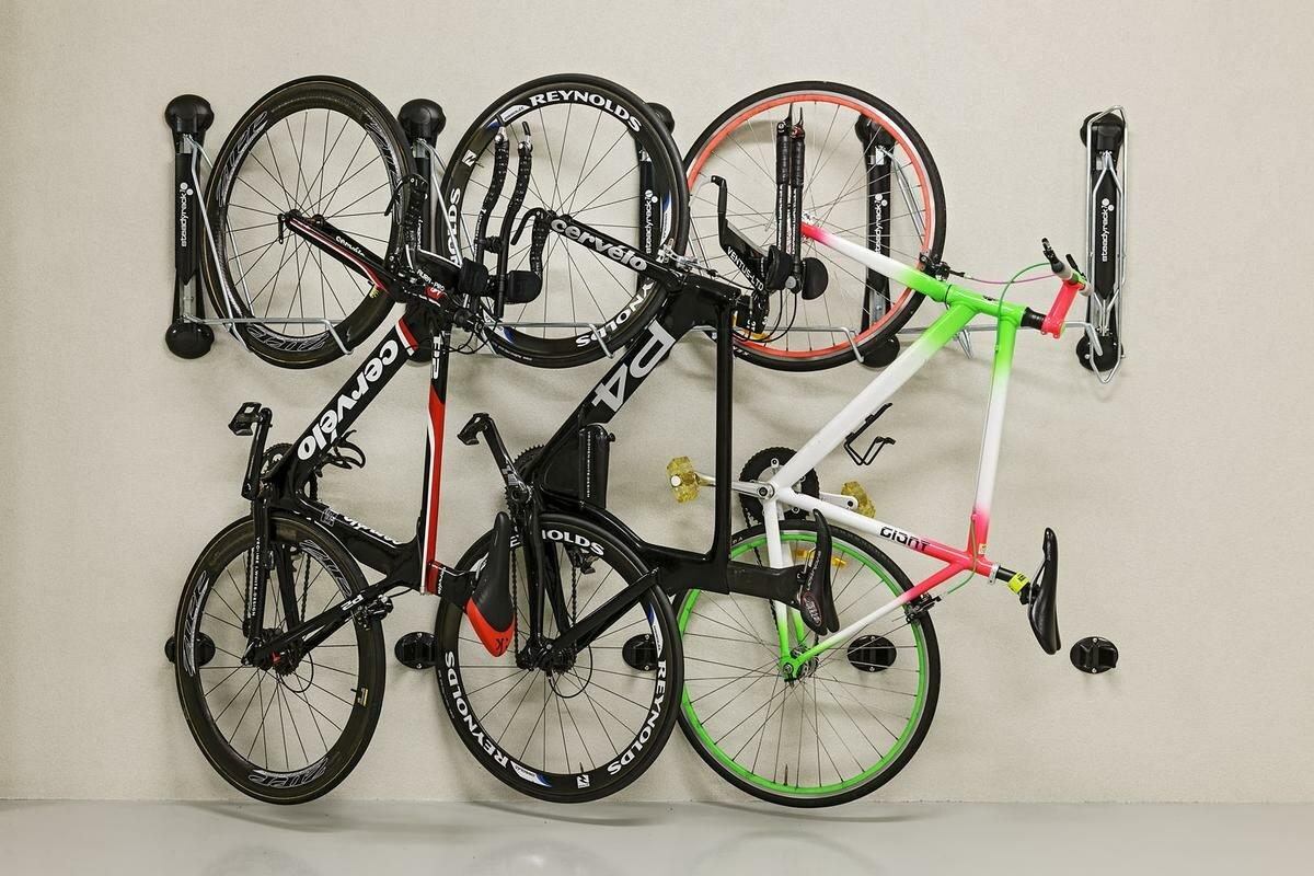 Steadyrack Bike Racks Fat Bike Storage Wall Mounted Bike