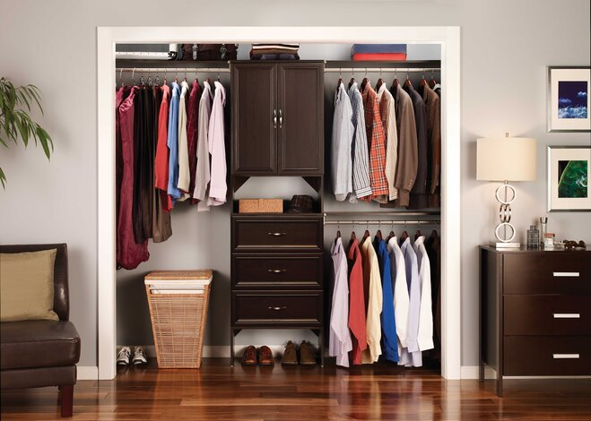 Merveilleux Make Mornings (and Life) Easier By Customizing Your Closet To Your Needs  With An Easy To Install System. Step One: Measure For A Flawless Fit.