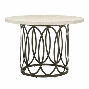 Ella Wrought Aluminum Dining Table Base