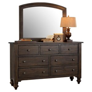 McCarthy 7 Drawer Standard Dresser by Darby Home Co