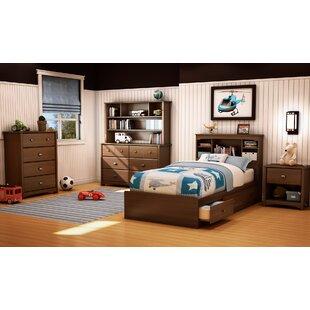 Willow Twin Platform Configurable Bedroom Set