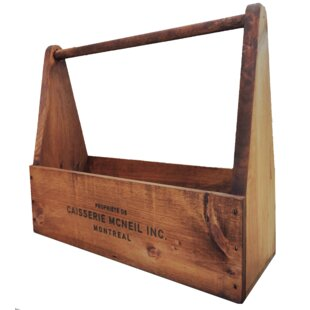 Relatively Vintage Wooden Tool Boxes | Wayfair RN58
