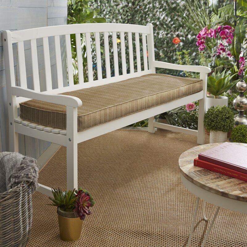 Wrought Studio Indoor Outdoor Bench Cushion Reviews Wayfair