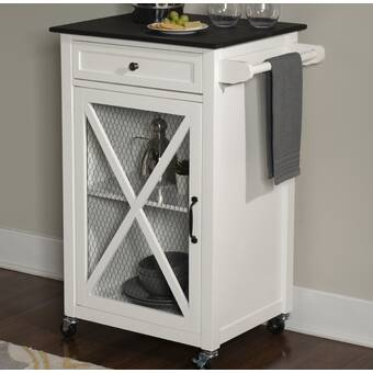Andover Mills Elsie Kitchen Cart With Granite Top Reviews