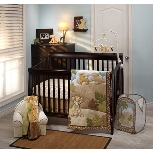 Lion King Urban Jungle Piece Crib Bedding Set