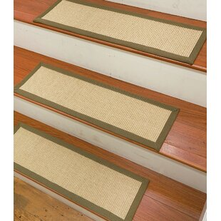 Beau Degory Sisal Carpet Ivory Stair Tread (Set Of 13)