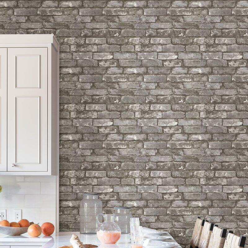 "33' x 20.5"" Chelsea Brick Wallpaper"