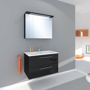 Belfry Bathroom 80 cm Wandmontierter Waschtisch Grete