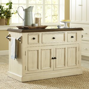 Kitchen Island Photos rustic kitchen islands & carts - kitchen & dining furniture | wayfair