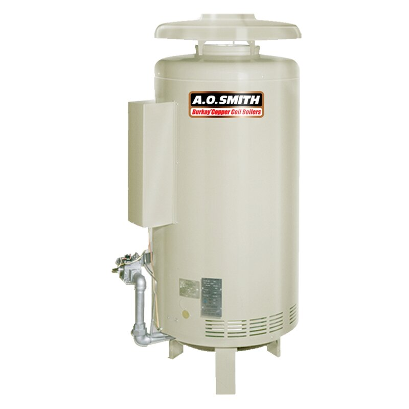 A.O. Smith HW-670 Commercial Hot Water Supply Boiler Nat Gas Burkay ...