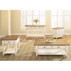 Vanbrugh 4 Piece Coffee Table Set