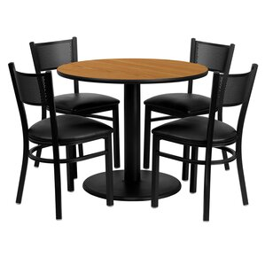 Ravindra 5 Piece Dining Set by Red Barrel Studio