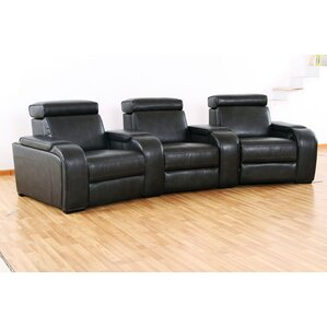 Wildon Home ? Meadows Home Theater Recliner (Row of 3) Image