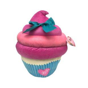 23e3d88a8b0 Nickelodeon JoJo Siwa Large Plush Sparkle Cupcake Throw Pillow with Bow