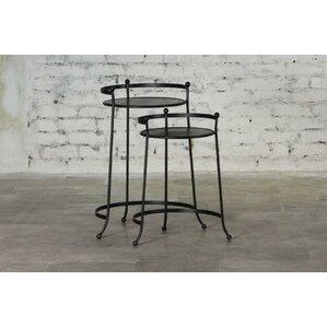 Cadney Iron 2 Piece Nesting Tables by Gracie Oaks