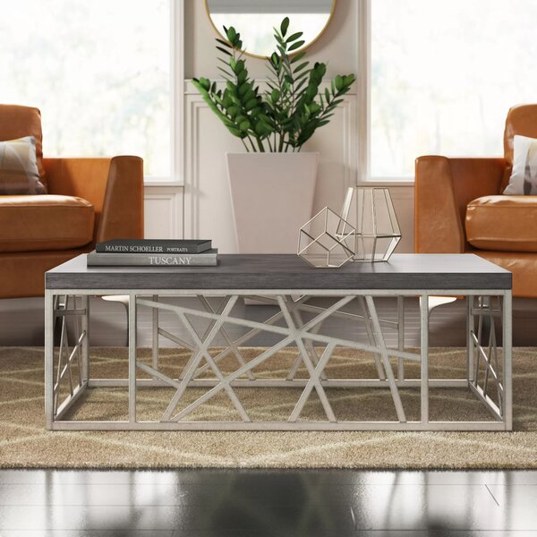 Modern Contemporary 48 Inch Square Coffee Table Allmodern