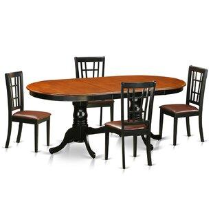 Pilcher 5 Piece Extendable Dining Set