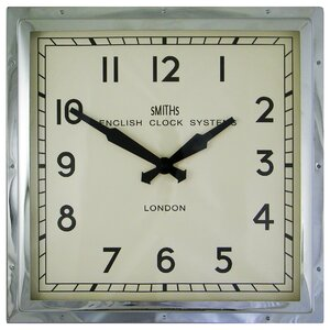 Smiths 41cm English Wall Clock