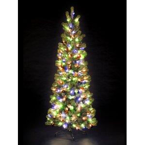 Prelit Pencil Tree Wayfair - Pre Lit Pencil Christmas Tree