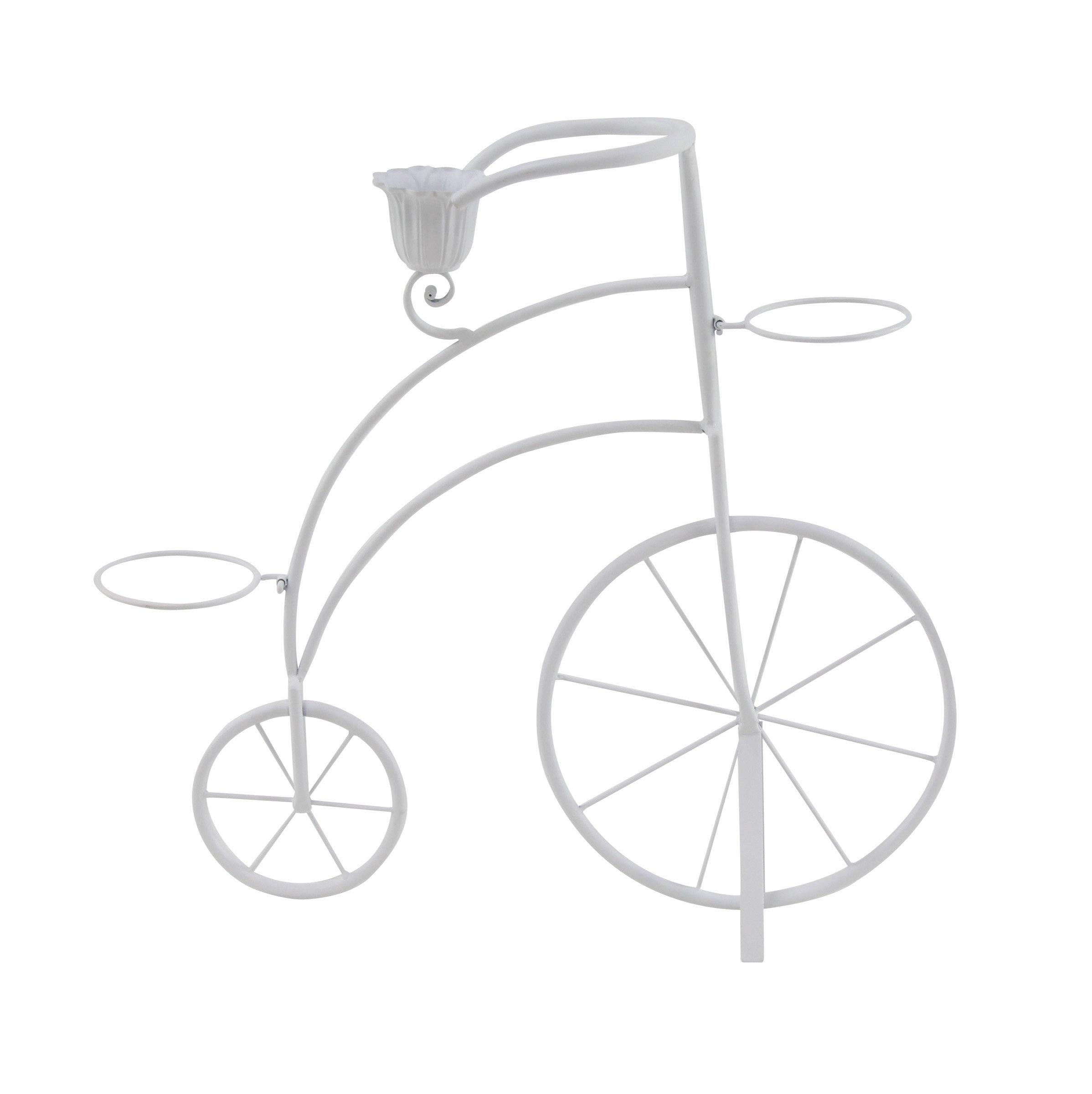 Ophelia Co Vicknair Penny Farthing Bicycle Metal Pot Planter