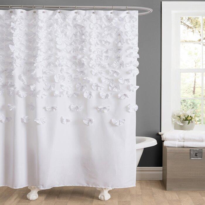 Willa Arlo Interiors Romain Shower Curtain & Reviews | Wayfair
