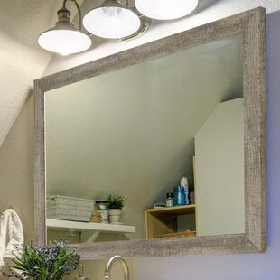 Country Barnwood Wall Mirror